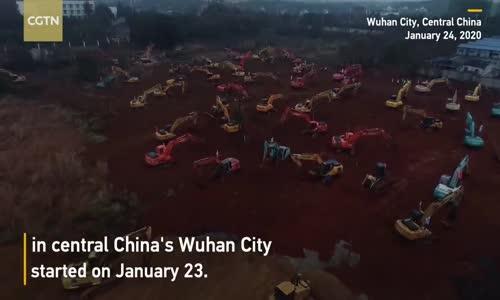 Wuhan, altı gün içinde koronavirüs hastalarını tedavi etmek için 1.000 yataklı hastane inşa edecek