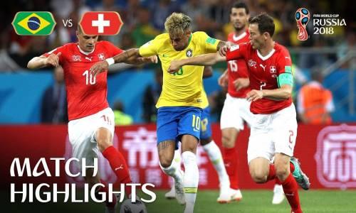 Brezilya 1 - 1 İsviçre - 2018 Dünya Kupası Maç Özeti