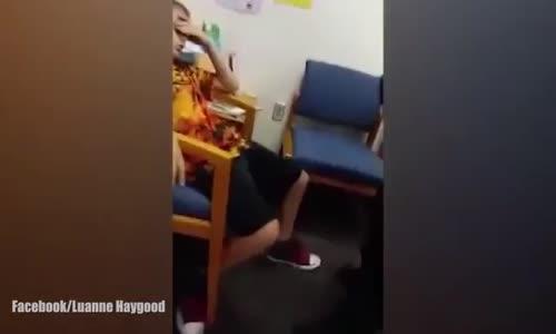 10 Yaşındaki Otizmli Çocuğu Okulda Kavga Çıkarıyor Diye Kelepçeleyip Tutukladılar!