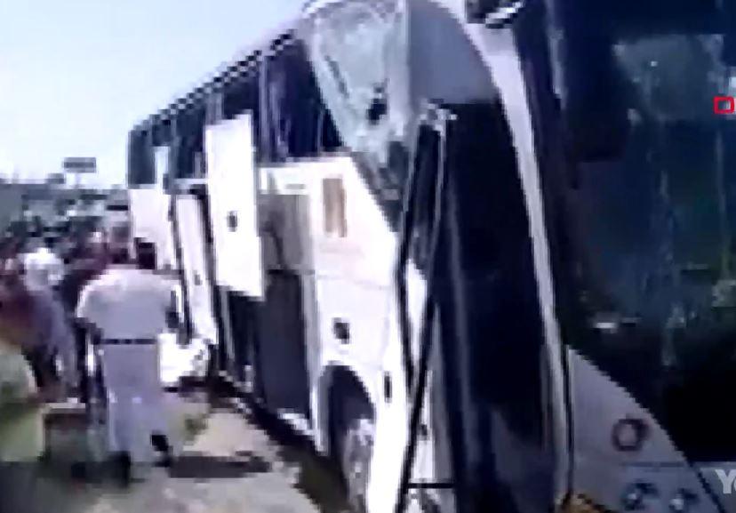 Mısır'da Turist Otobüsünde Patlama- 14 Yaralı