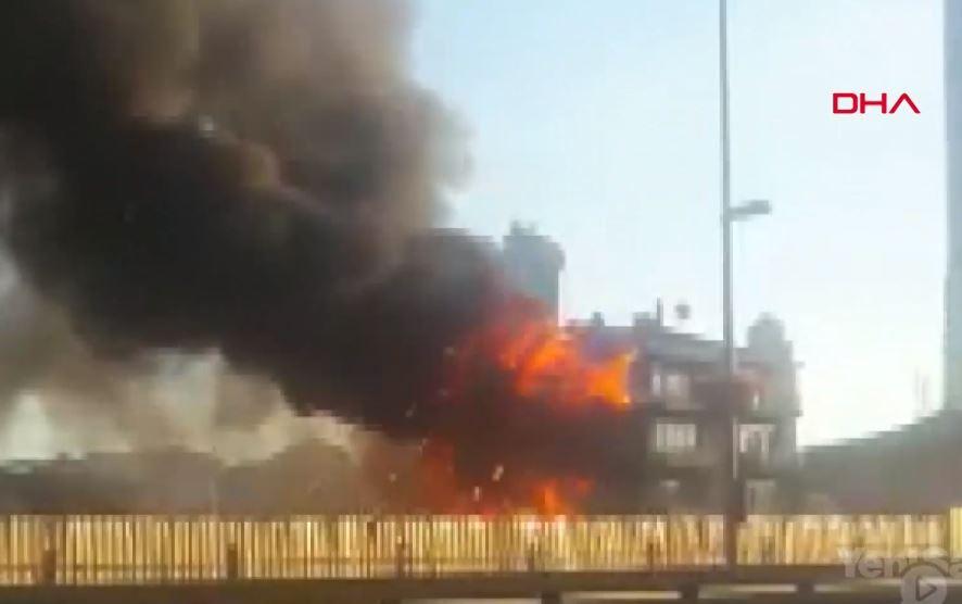 Fikirtepe'de Yangın Can Aldı- 2 Ölü, 4 Yaralı