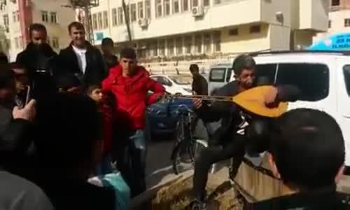 Beşar Esad'a Kızan Kürt Adam