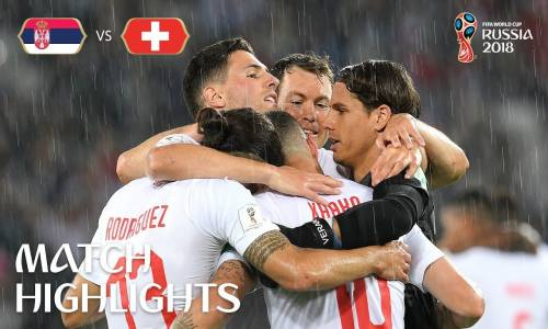 Sırbistan 1 - 2 İsviçre - 2018 Dünya Kupası Maç Özeti