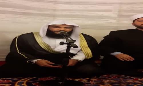 Abdurrahman El Ussi İstanbul 39'da Namaz Sonu Kuran Tilaveti