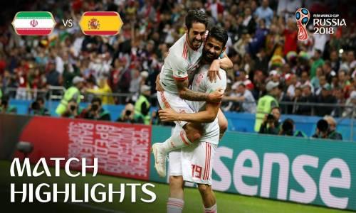 İran 0 - 1 İspanya - 2018 Dünya Kupası Maç Özeti