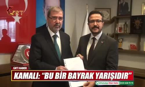 Gaziantep Ak Parti Şahinbey Kurucu İlçe Başkanı Hayri Kamalı Şehitkamil Belediye Başkan Aday Adayı