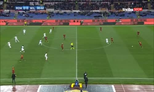 Roma 0-2 Milan Maç Özeti