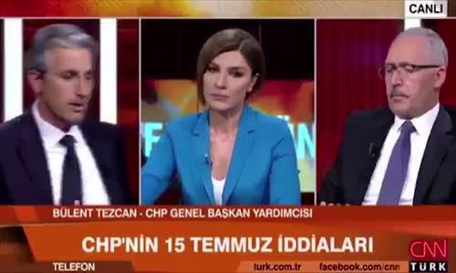 Nedim Şener'den CHP'li Sözcüye 'FETÖ' Ayarı