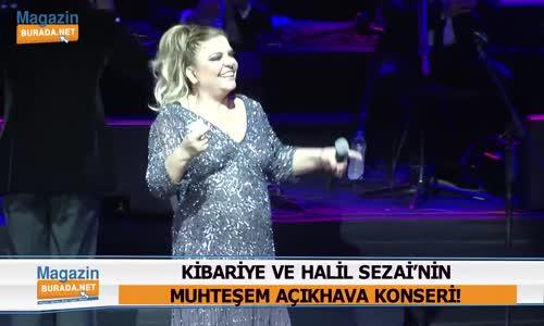 Kibariye Ve Halil Sezai'nin İlk Konser Birlikteliği