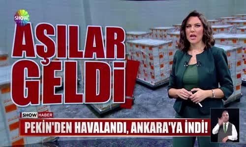 3 milyon doz aşı Ankara'da