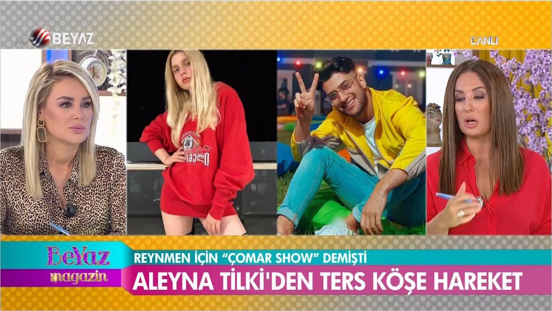 Aleyna Tilki Tükürdüğünü Yaladı - Reynmen'den Özür Mü Diledi