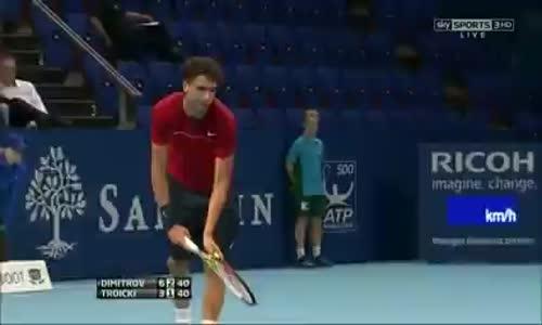 Tenis Maçında Mükemmel Hareket