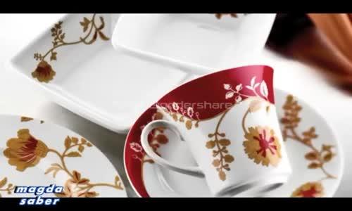 Çok Şık Porselen Yemek,Çay ve Kahvaltı Takım Modelleri