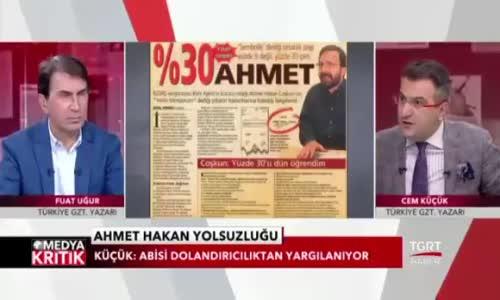 Cem Küçük Ahmet Hakan'a Soruyor