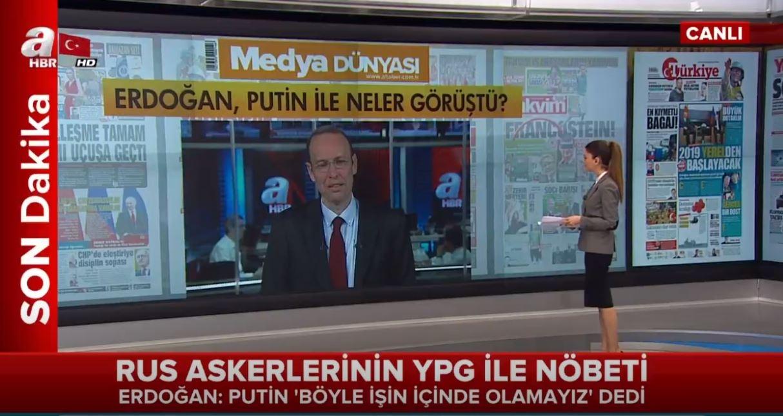 Erdoğan Putin Kürt Devleti'ne Olumlu Bakmıyor