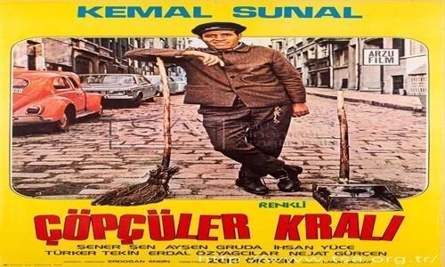 Çöpçüler Kralı 1977  Kemal Sunal Film İzle