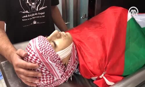 İsrail Askerleri Filistinli Çocuğu Şehit Etti
