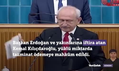 Kılıçdaroğlu'nun Yalanları Pahalıya Patladı