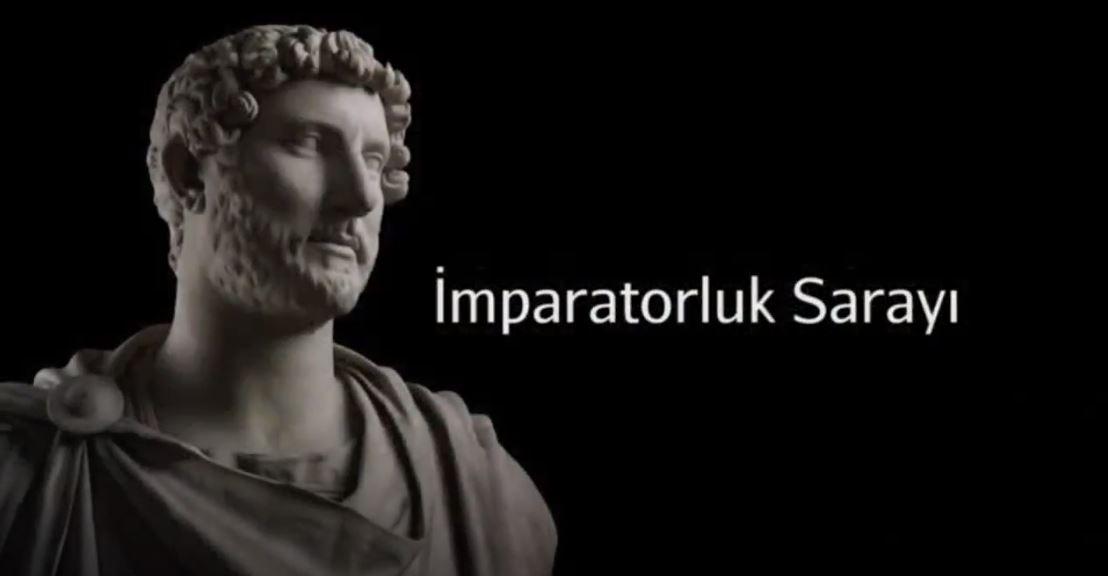 Hadrian, İmparatorluk Sarayı, Tivoli