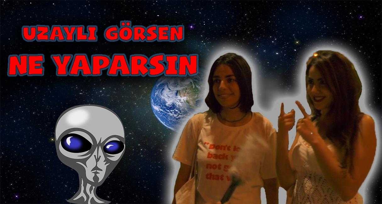 Uzaylı Görseniz Tepkiniz Ne Olurdu ? Süslü Mikrofon Eskişehir'de #5