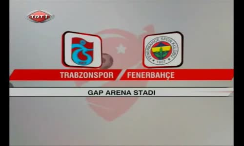 TRABZONSPOR FENERBAHÇE 3-1 SUPER KUPA FİNALİ