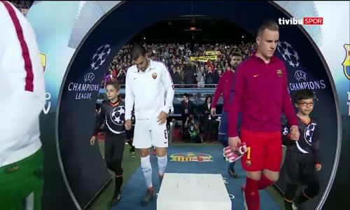 Barcelona 4 - 1 Roma - UEFA Şampiyonlar Ligi Maç Özeti