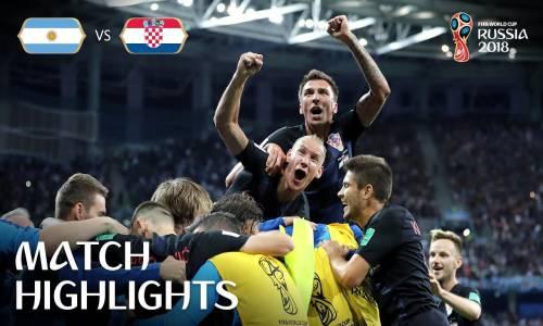 Arjantin 0 - 3 Hırvatistan - 2018 Dünya Kupası Maç Özeti