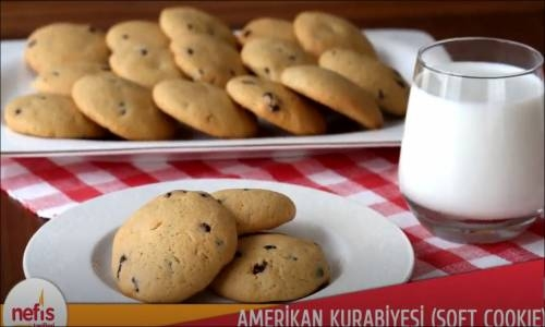 Amerikan Kurabiyesi Soft Cookie Videosu