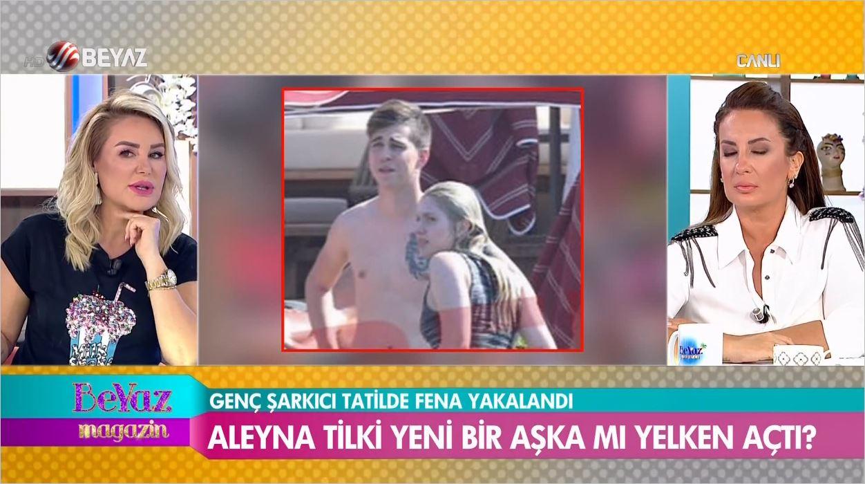 Aleyna Tilki Bodrum'da Sevgilisiyle Yakalandı