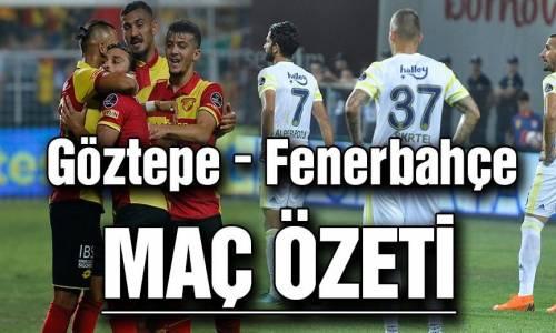 Göztepe 1 - 0 Fenerbahçe Maç Özet