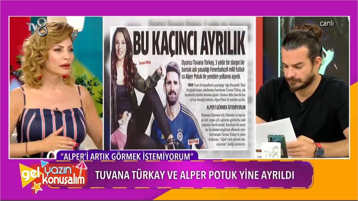 Alper Potuk Ve Tuvana Türkay Ayrıldı