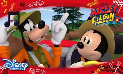Harika Mickey ve Çılgın Yarışçılar Şarkıları