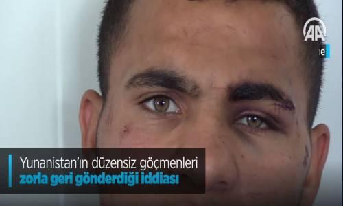 Yunanistan'ın Düzensiz Göçmenleri Zorla Geri Gönderdiği İddiası