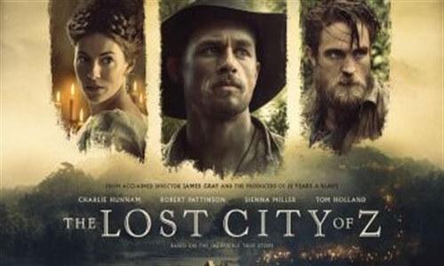 Kayıp Şehir Z  Yabancı Film Full Hd Türkçe Dublaj İzle