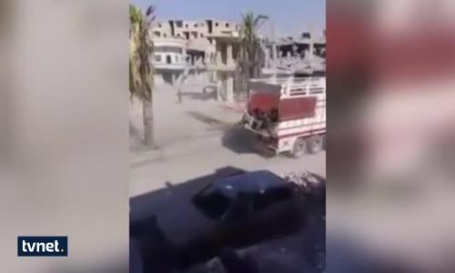 Abd  Deaş'lı Teröristleri Böyle Tahliye Etti