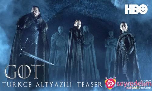 Game of Thrones 8. Sezon Türkçe Altyazılı Teaser