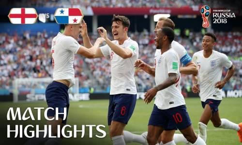 İngiltere 6 - 1 Panama - 2018 Dünya Kupası Maç Özeti