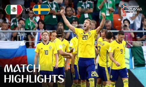 Meksika 0 - 3 İsveç - 2018 Dünya Kupası Maç Özeti