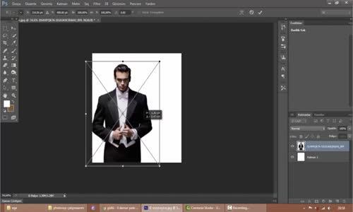 Photosop Dağılma Efekti