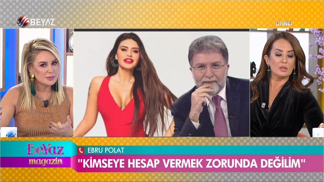 Ebru Polat'tan Canlı Yayında Ahmet Hakan'a Sert Cevap