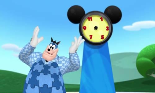 Mickey Fare'nin Kulüp Evi - Saati Tamir Et!