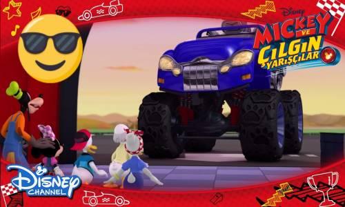 Mickey ve Çılgın Yarışçılar - Canavar Kamyon