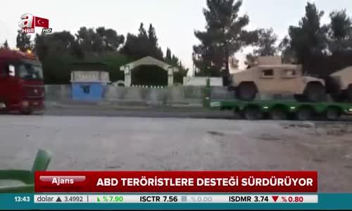 Abd'den Terör Örgütü Ypg'ye 60 Tır Dolusu Silah Daha