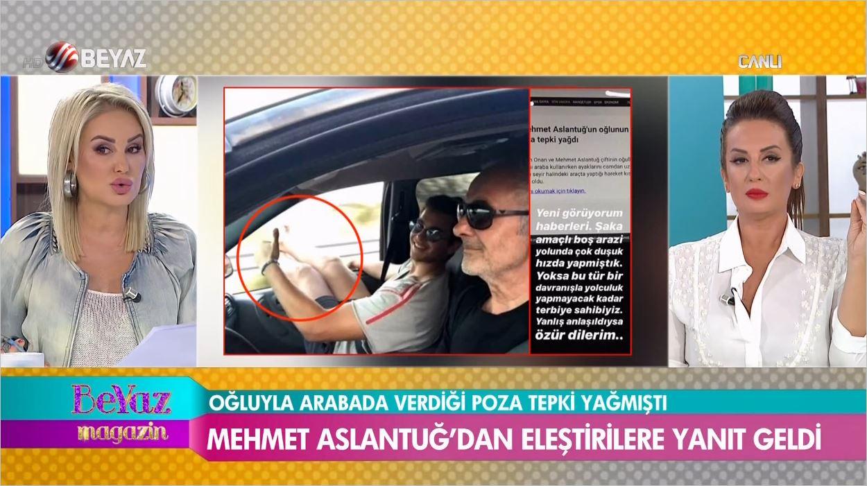 Mehmet Aslantuğ'un Oğlu Can Aslantuğ'dan O Fotoğrafa Açıklama Geldi