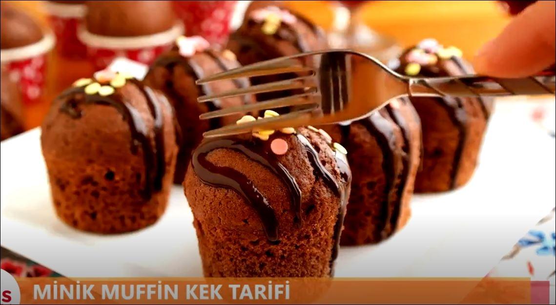 Yumuşacık Mini Muffin Kek
