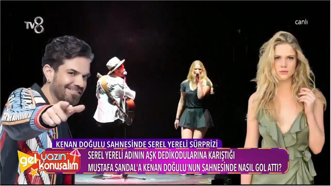 Serel Yereli'den Mustafa Sandal'a Olay Gönderme