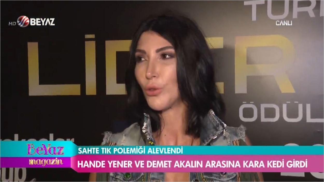Demet Akalın Duymasın - Hande Yener'den Reynmen'e Tam Destek