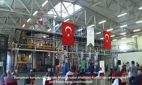 Ortadoğu ve Kuzey Afrika'nın ilk ve tek Biyoteknoloji Fabrikası, LIVZYM'i açtık