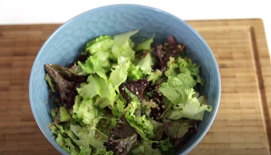 Diyetteyken Yaptığım Salata Tarifi