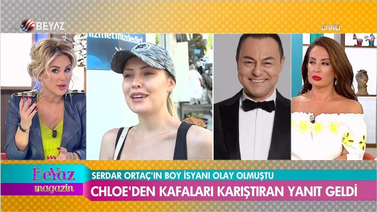 Serdar Ortaç'ın Eşi Chloe'dan Kumar Borcu Açıklaması